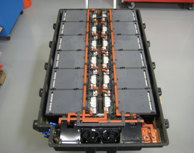 Vacuum Infused Composite Battery Tray